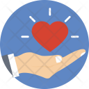 Love Heart Caring Icon