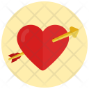 Love Heart Shooting Icon
