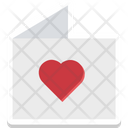 Love Diary Greeting Icon