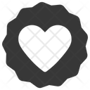 Sticker New Heart Icon