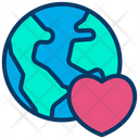 Globe Global Global Love Icon