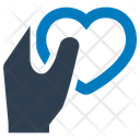 Charity Donations Heart Icon