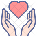 Father Heart Day Icon
