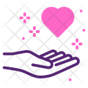 Heart Fathers Day Valentines Day Icon