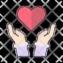 Love Care Cancer Icon