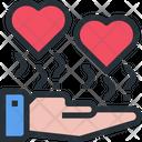 Love Care Family Love Icon