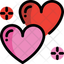 Love Heart Couple Icon