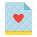 File Love Favorite Icon