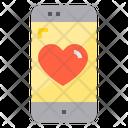 Love Love Application Favourite Icon