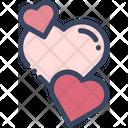 Hearts Love Valentine Icon