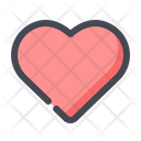 Love Heart Favourite Icon