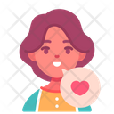 Positive Care Kid Icon