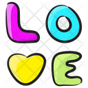 Love Adore Affection Icon