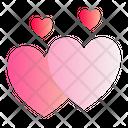 Hearts Love Romance Icon