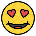 Love Hearth Eyes Icon