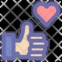 Love Romantic Heart Icon