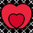 Love Heart Like Icon