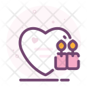 Love Valentine Romantic Icon