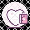 Love Valentine Romantic Icon