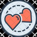 Love Intercourse Romance Icon