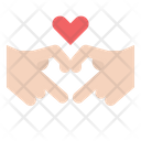 Love Sign Hand Icon