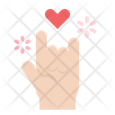 Love Hand Sign Icon