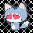 Happy Love Smirk Icon