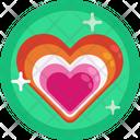 Love Romantic Gay Icon