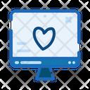 Website Love Like Icon
