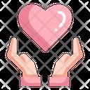 Love Heart Hand Icon