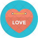 Love Heart Tag Icon