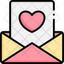 Love Email Message Icon