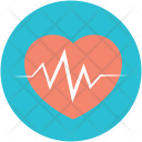 Love Care Heartbeat Icon