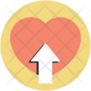 Love Heart Like Icon