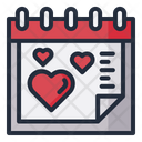 Love Date Schedule Icon