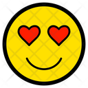 Love Face Heart Icon