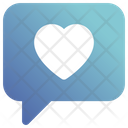 Love Heart Chat Icon