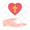 Hand Love Christianity Icon