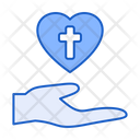 Love Hand Heart Icon
