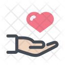 Love Donation Care Icon
