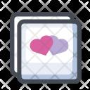 Love Letter Frame Icon