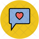 Love Chat Lovers Icon