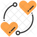 Love Circle Heart Icon