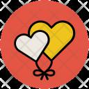 Love Balloon Heart Icon