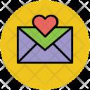 Love Letter Envelope Icon