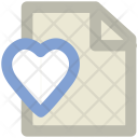 Love Letter Heart Icon