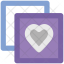 Love Heart Two Icon