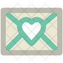 Love Mail Greeting Icon