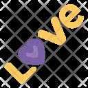 Love Word Romance Icon
