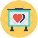 Love Canvas Hearts Icon